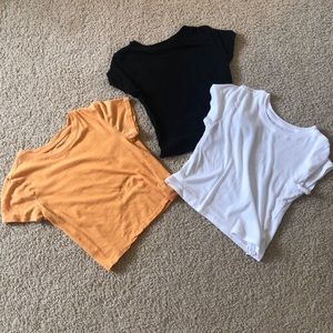 Forever21 baby tees/ crop top bundle